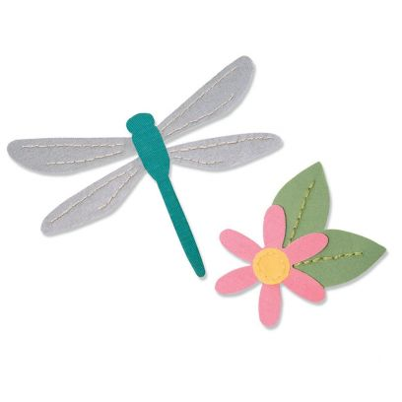 Fustella Libellula * Bigz Dragonfly - 1