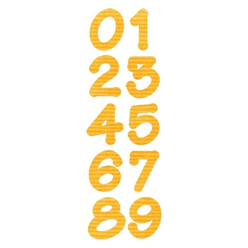 Fustella Numeri -  Bigz Lollipop Shadow Numbers - 1