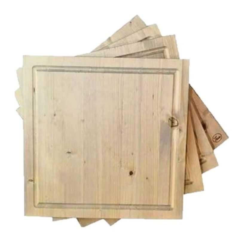 Quadro in legno natural I nastri di Mirta - 1