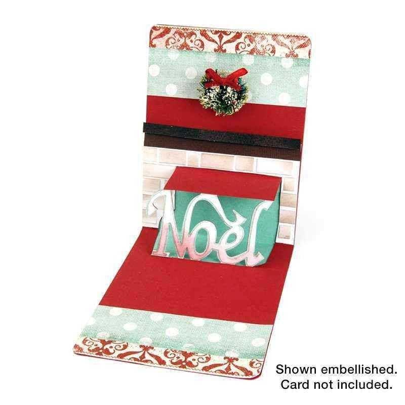 Fustella 3D Natale - Pop'n Cut Phrase Noel 3D - 1