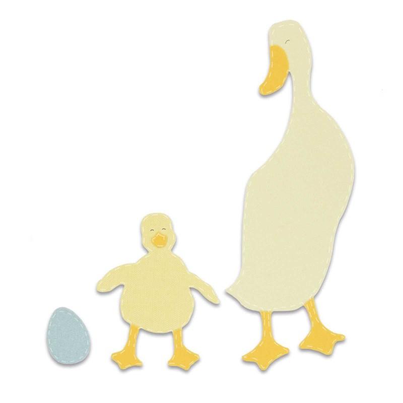 Fustella Oca con Pulcino - Bigz Duck  Duckling - 1
