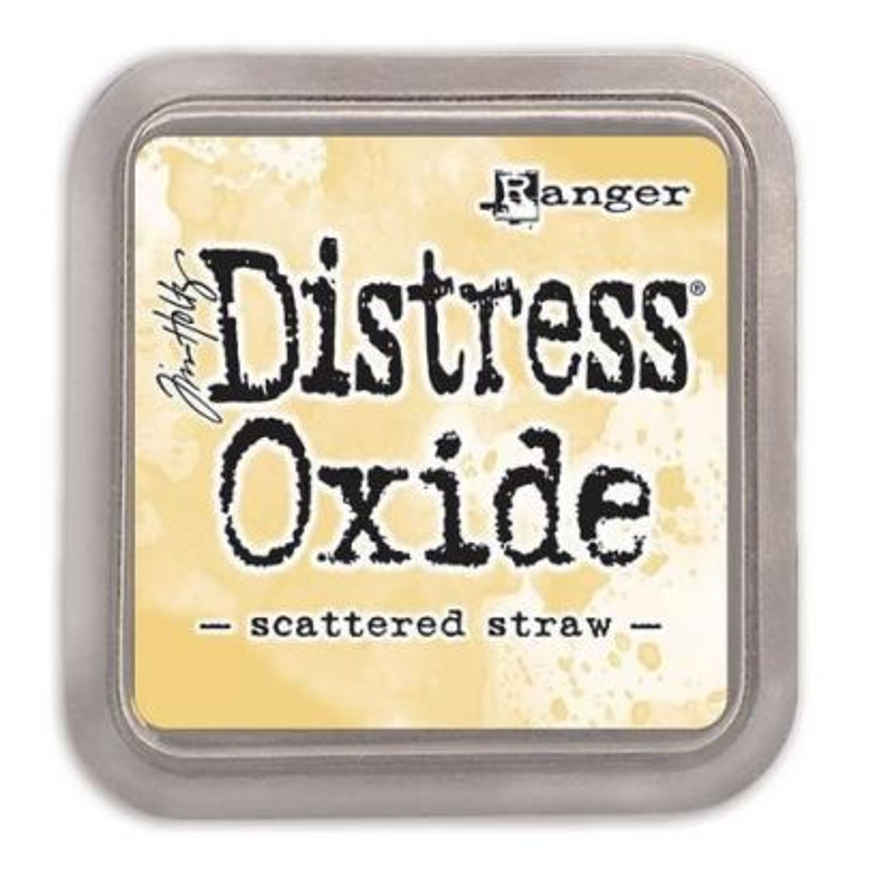 Ranger Tim Holtz - Distress Oxide - Ink Pad - Scattered Straw - 1