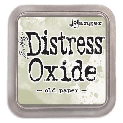 Ranger Tim Holtz - Distress Oxide - Ink Pad - Old Paper - 1