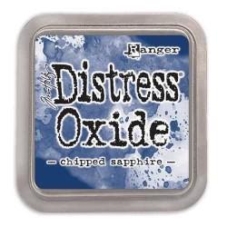 Ranger Tim Holtz - Distress Oxide - Ink Pad - Chipped Sapphire - 1