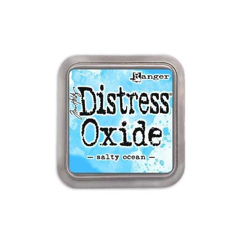 Ranger Tim Holtz - Distress Oxide - Ink Pad - Salty Ocean - 1