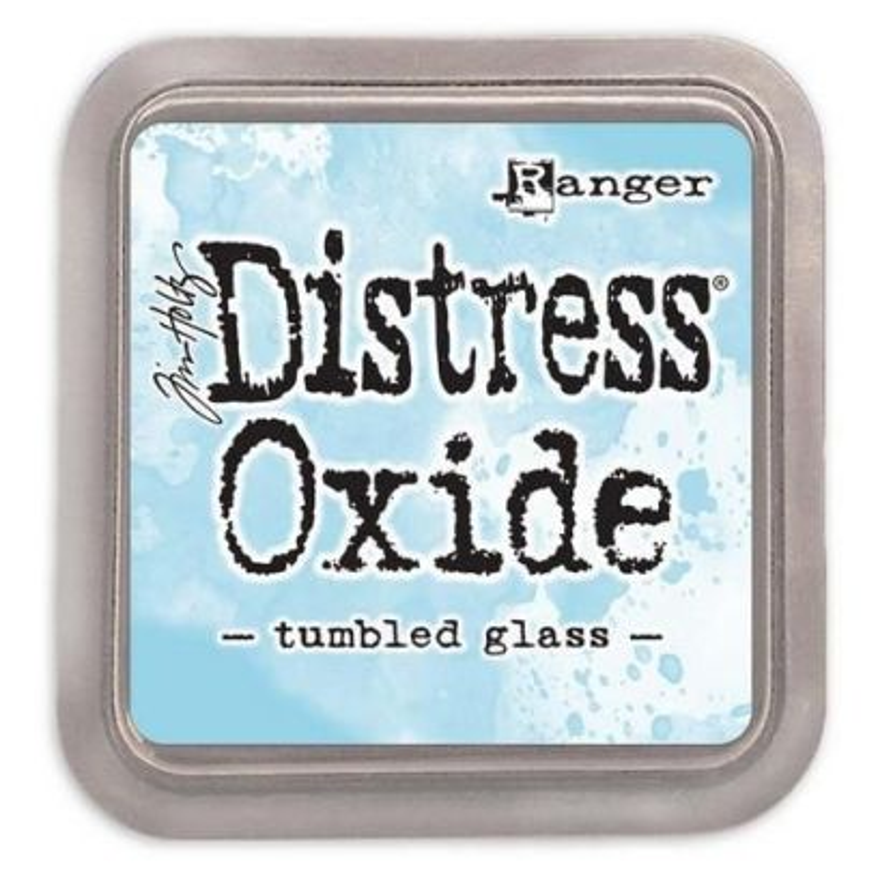 Ranger Tim Holtz - Distress Oxide - Ink Pad - Tumbled Glass - 1