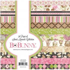 BoBunny paper pad Sweet Moments - 1
