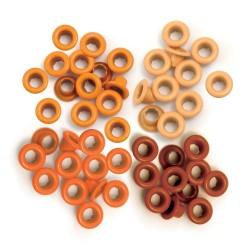 We R Memory Keepers - Eyelet Standard Orange - 1