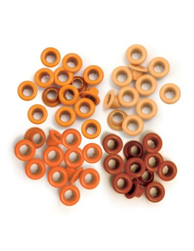 We R Memory Keepers - Eyelet Standard Orange - 1
