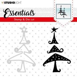 Studio Light  Fustelle e timbri Essentials Christmas n 36 - 1