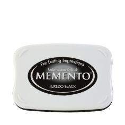 Memento ink pad tuxedo black - 1