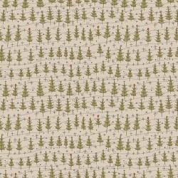 Tessuto Stone Trees Winter Wonderland - 1