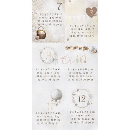 """Craft o' Clock - carte da scrap - Sleep & Dream 12""""x6"""" - 5"""
