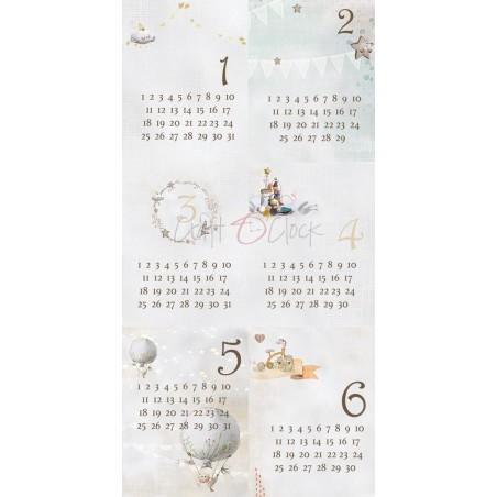 """Craft o' Clock - carte da scrap - Sleep & Dream 12""""x6"""" - 6"""