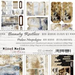 """Craft o' Clock - Extras Set Junk Journal - Beauty Restless 12""""x6"""" - 1"""