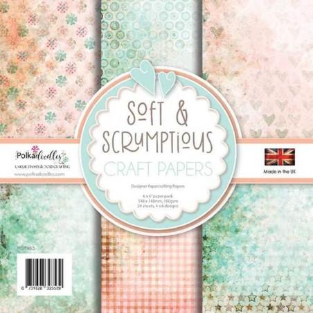 Carte Polkadoodles - Soft & Scrumptious - 1