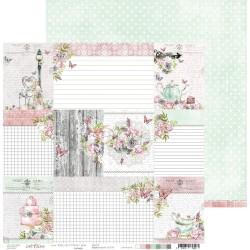 Craft o' Clock - Carta da scrap - Felici' Tea 6 - 1