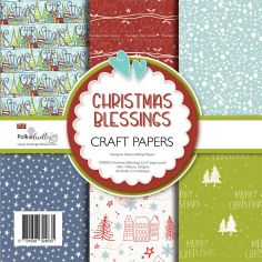 Carte Polkadoodles - Christmas Blessings - 1