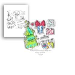 Tessuto per Retro Quilt - Back Quilt Muslin Prints Flowers Cream & White