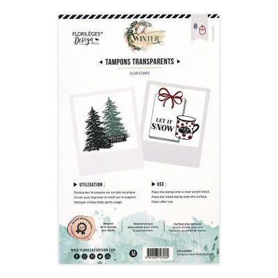 Timbro Florileges – Hiver Blanc - 2