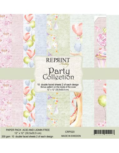 Paper Pad Reprint Party Collection - 2
