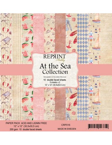 Paper Pad Reprint At the Sea Collection - 1
