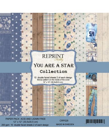Paper Pad Reprint You are a Star Collection - 1