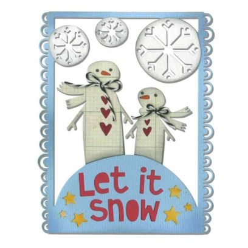 Fustella Pupazzi di Neve - Thinlits Let It Snow - 1