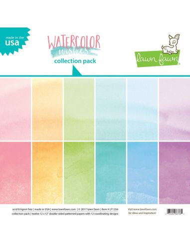 Paper Pad Lawn Fawn Watercolor Wishes - 1