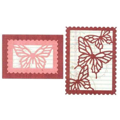 Fustella Farfalla - Thinlits Butterfly Cards - 1