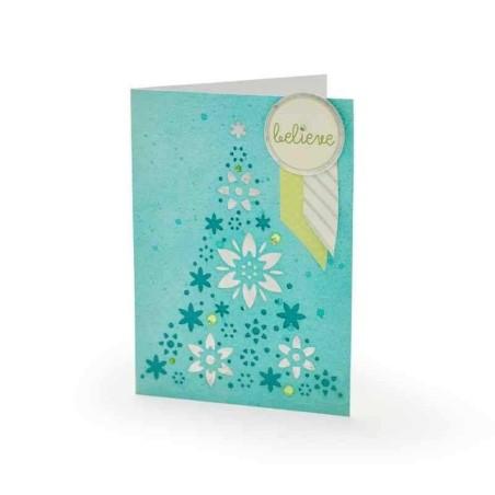 Fustella Albero di Natale - Thinlits Ornament Tree - 1