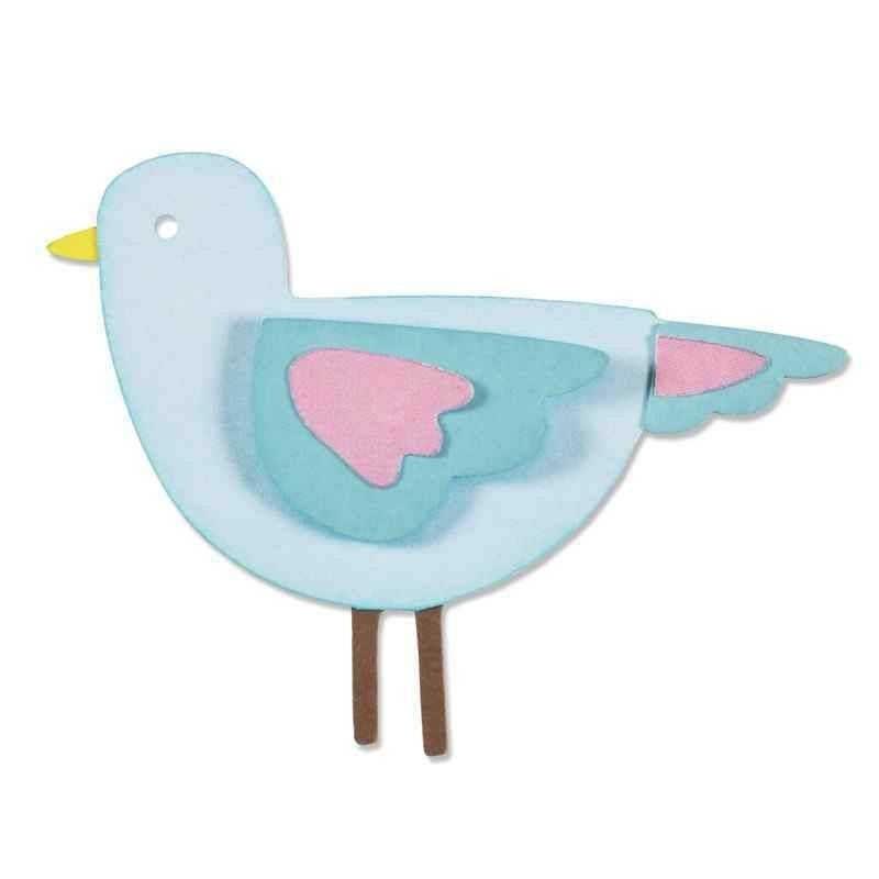 Fustella Uccello - Thinlits Sweetie Bird - 1