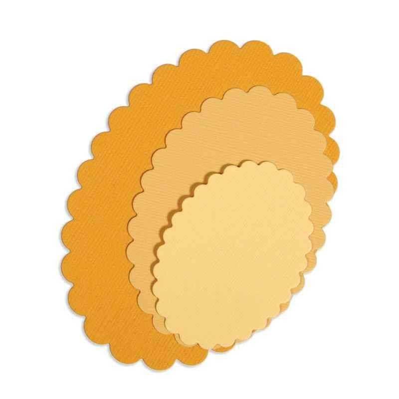 Fustella Ovali Smerlati - Framelits Ovals Scallop - 1