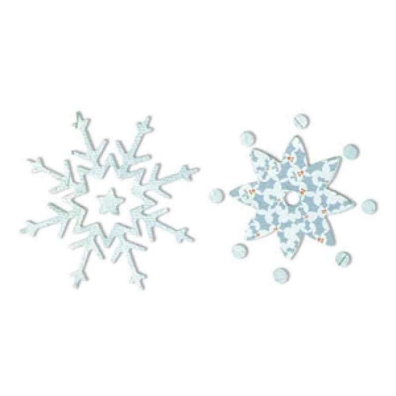 Fustella Fiocchi di Neve - Sizzlits Snowflakes 21 - 1