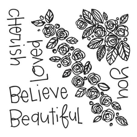 Fustella e Timbro Rose - Framelits Beautiful You - 2