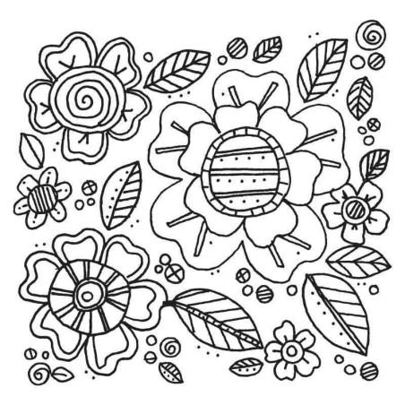 Fustella e Timbro Fiori - Framelits Flowers 5 - 2