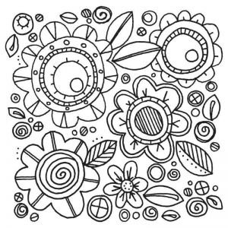 Fustella e Timbro Fiori -  Framelits Flowers 6 - 2