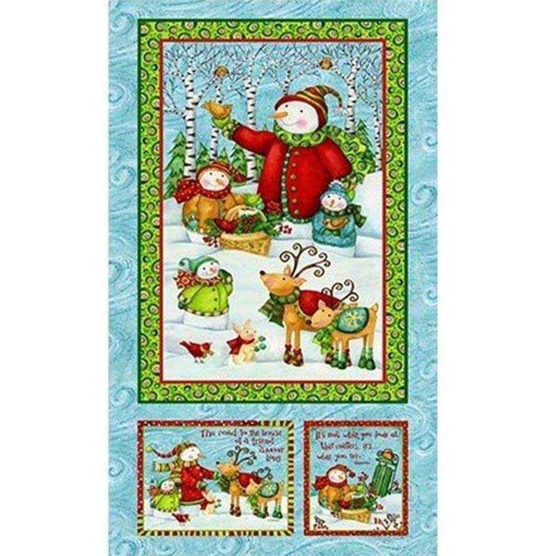 Tessuto Natale - Winter Woodlands 245834 104 - 1