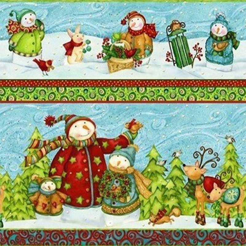 Tessuto Natale - Winter Woodlands 245834 106 - 1