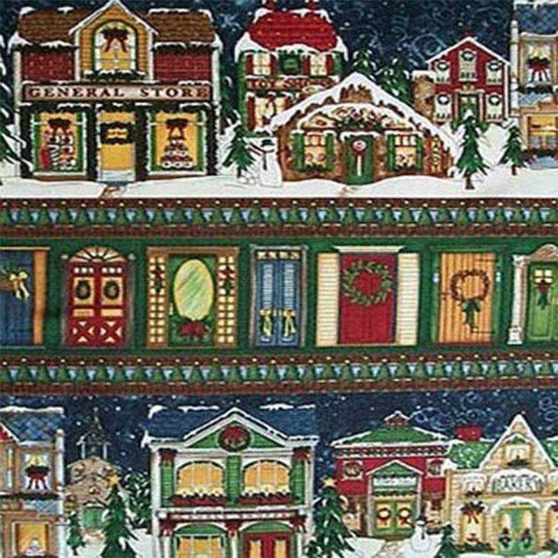 Tessuto Natale - Village Charm 270400 - 1