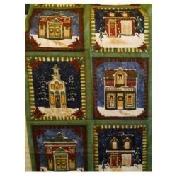 Tessuto Natale - Village Charm 269743 - 1