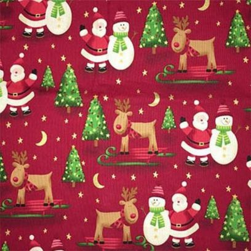 Tessuto Natale - Novelty Christmas 247414 12 - 1