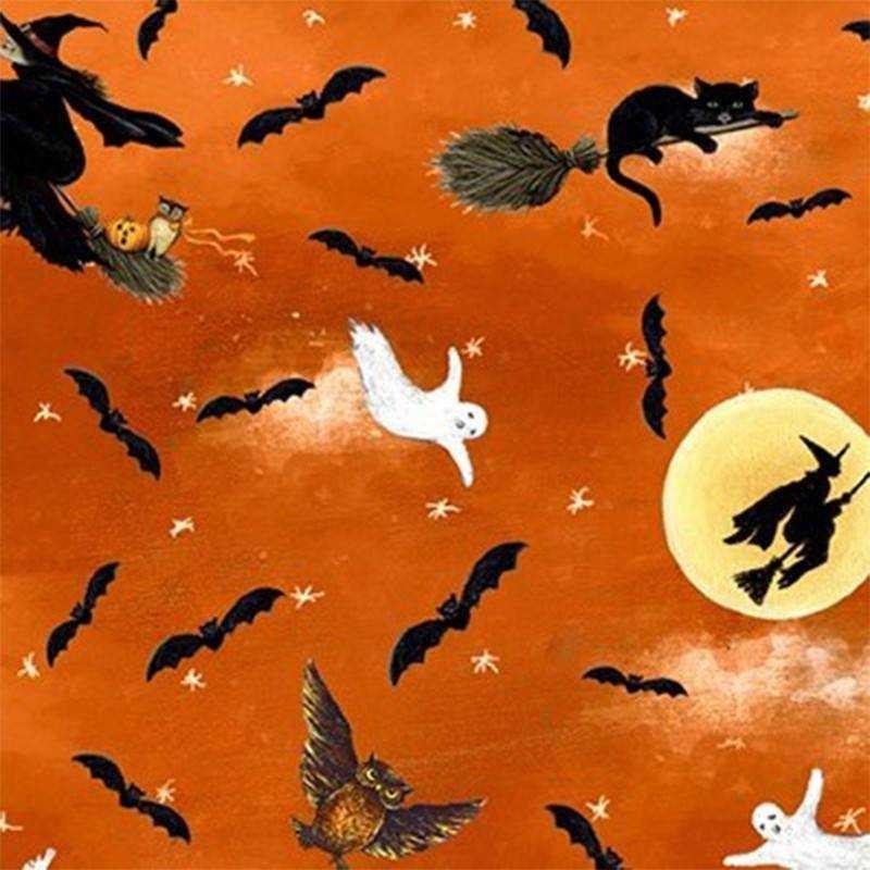 Tessuto Halloween - Pumpkin Hollow 065895 - 1