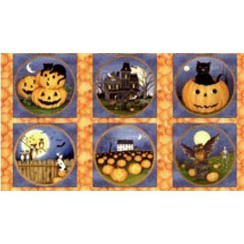 Tessuto Halloween - Pumpkin Hollow 061859 - 1