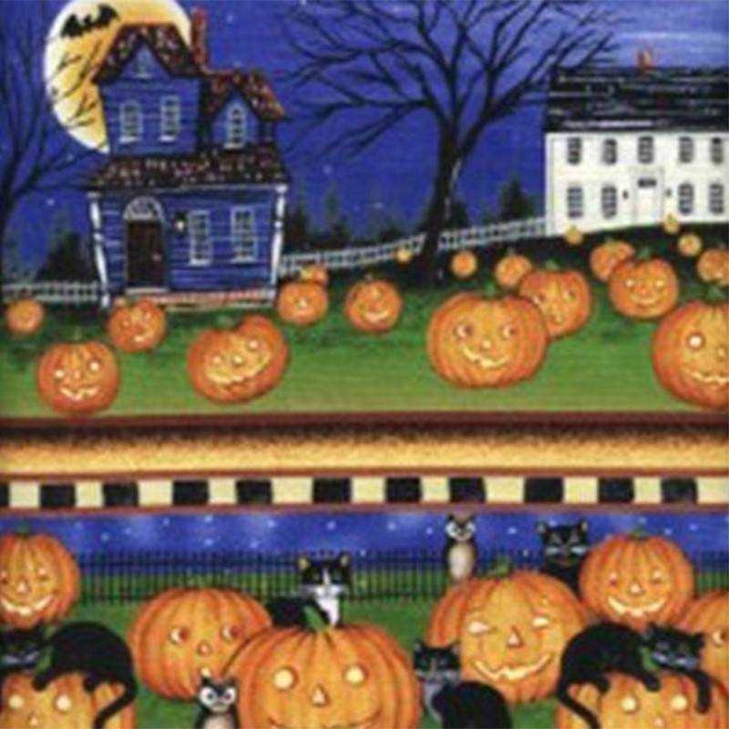 Tessuto Halloween - Pumpkin Hollow 062487 - 1