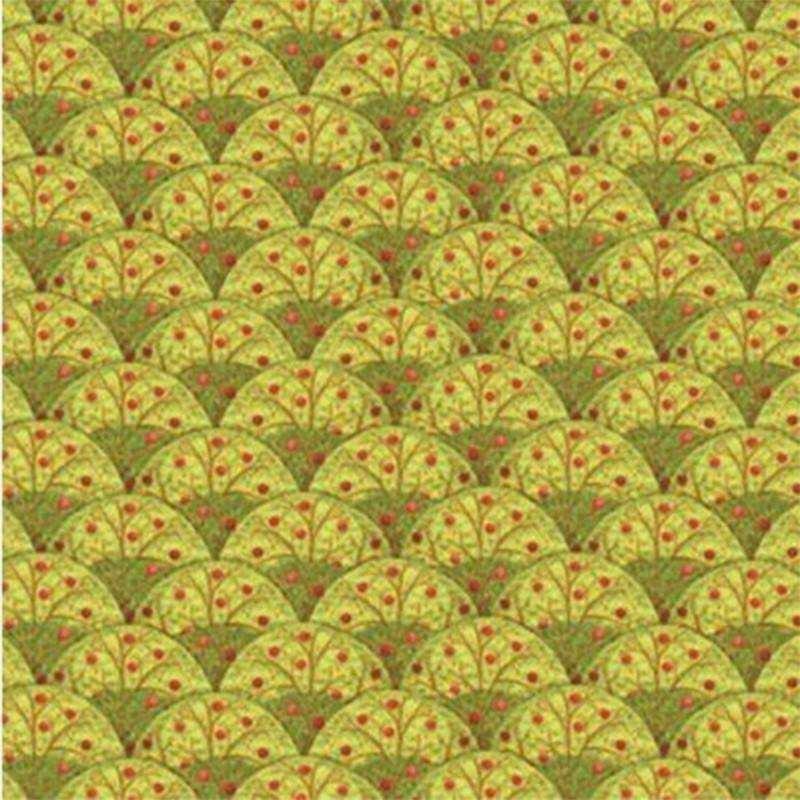 Tessuto Autunno - Apple Harvest 394773