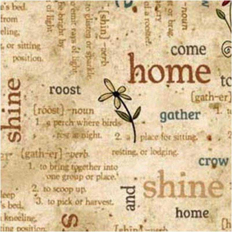 Tessuto Pasqua - Home to Roost 245831-71 - 1