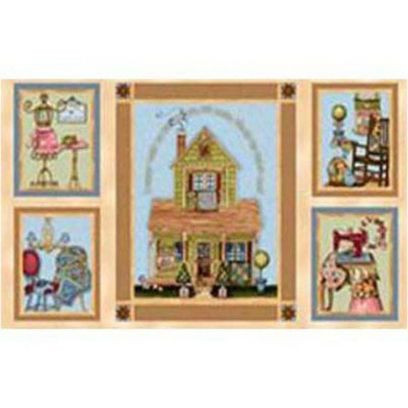 Tessuto Shabby - A Quilter' s Home 246040-000247 - 1
