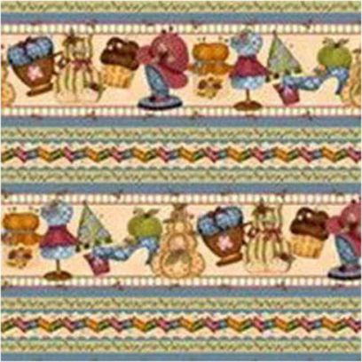 Tessuto Shabby - A Quilter' s Home 246040-001234 - 1