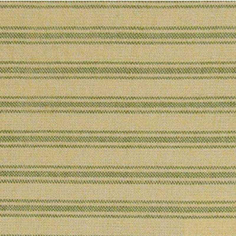Tessuto Tinto in Filo - Garden Green Stripe - 1
